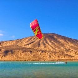 Kite camp en Fuerteventura