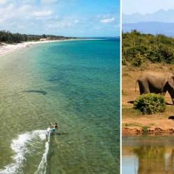 viaje de Kitesurf en Mozambique