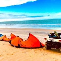 Vacaciones kitesurf en Brasil - downwind y buggy - Tribbuu
