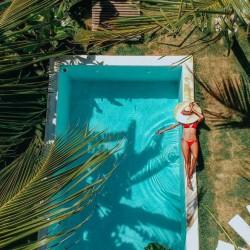 Aprende kitesurf en Brasil - piscina - Tribbuu