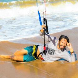 Vacaciones kitesurf en Brasil - sonrisa - Tribbuu