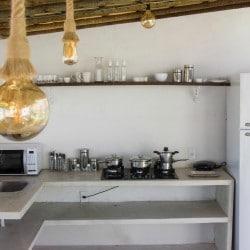 Vacaciones kitesurf en Brasil - Cocina exterior - Tribbuu