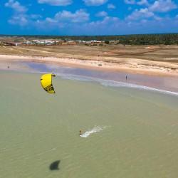 Vacaciones kitesurf en Brasil - Spot flat - Tribbuu