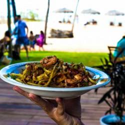 vacaciones kitesurf en Brasil - comida local - Tribbuu