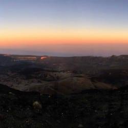Trekking - Tenerife en modo Trekking - Atardecer refugio altavista - Tribbuu